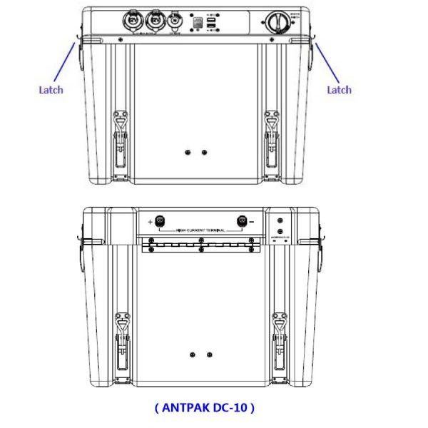 Antpak Dc10 Battery Box Dc Solar Dual Battery System