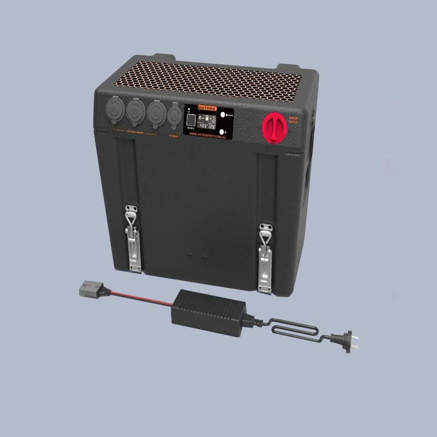 Antpak Dc20 Battery Box Dc Solar Charger And Ac Charger
