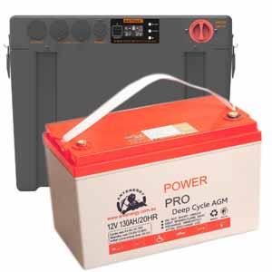 Antpak Dc 20 20amp Dcdc Battery Box Isolator Amp 135ah Agm